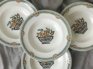 Vintage French Clementine Bowls