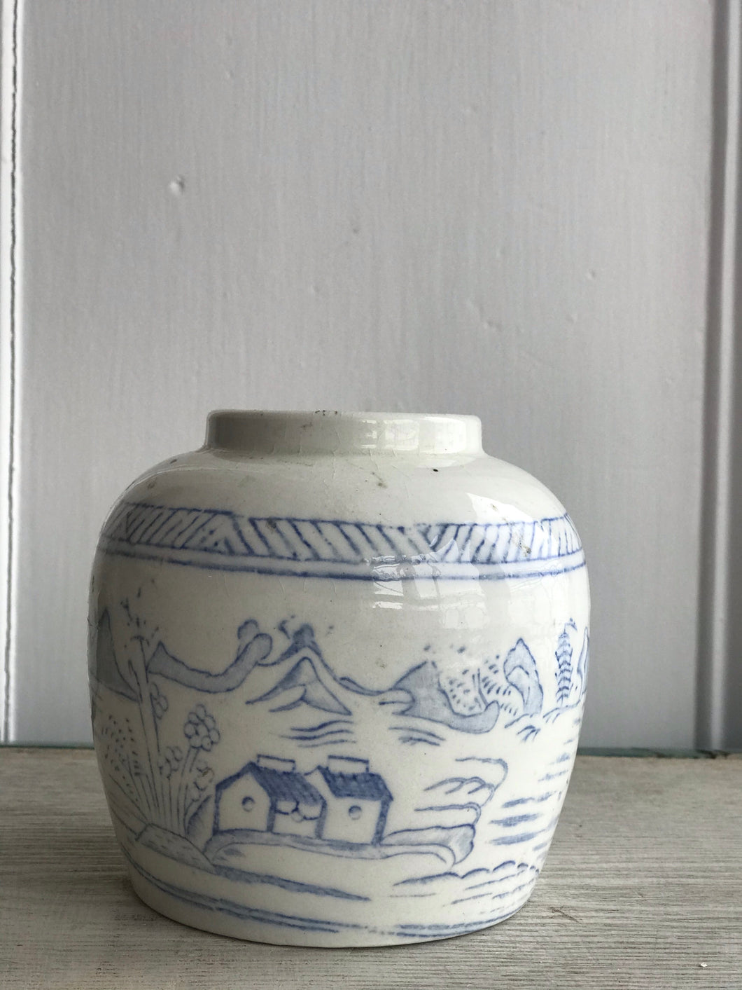 Antique Chinese Ginger Jar