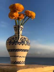 Hand-painted Portuguese Vase