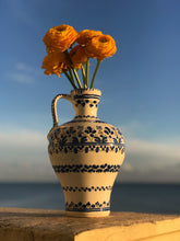 Load image into Gallery viewer, Hand-painted Portuguese Vase