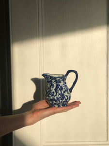 Blue and White Victorian Jug