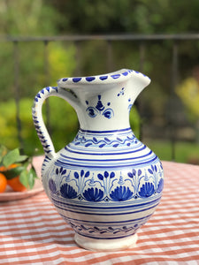 Spanish Hand-painted Jug