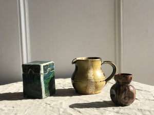 Trio of Earthenware Objects