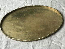 Load image into Gallery viewer, Antique Brass Chinese Serving Tray