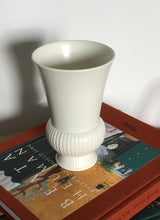 Load image into Gallery viewer, Fluted Cream Vase