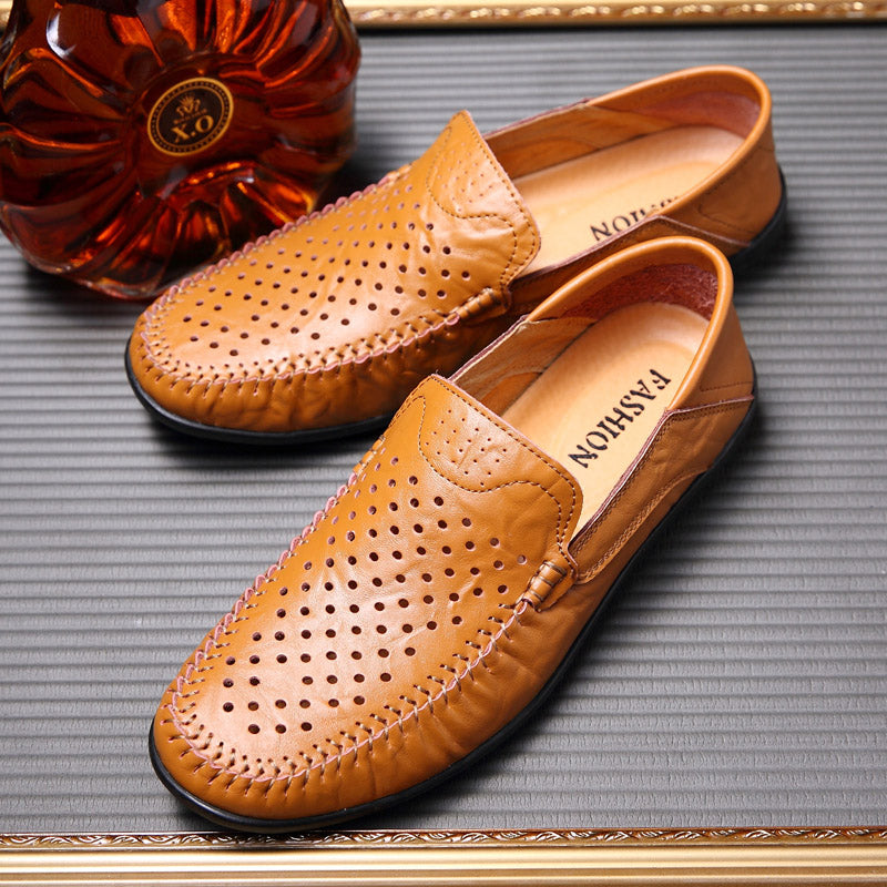 Lorenzo Rossi Leather Loafers