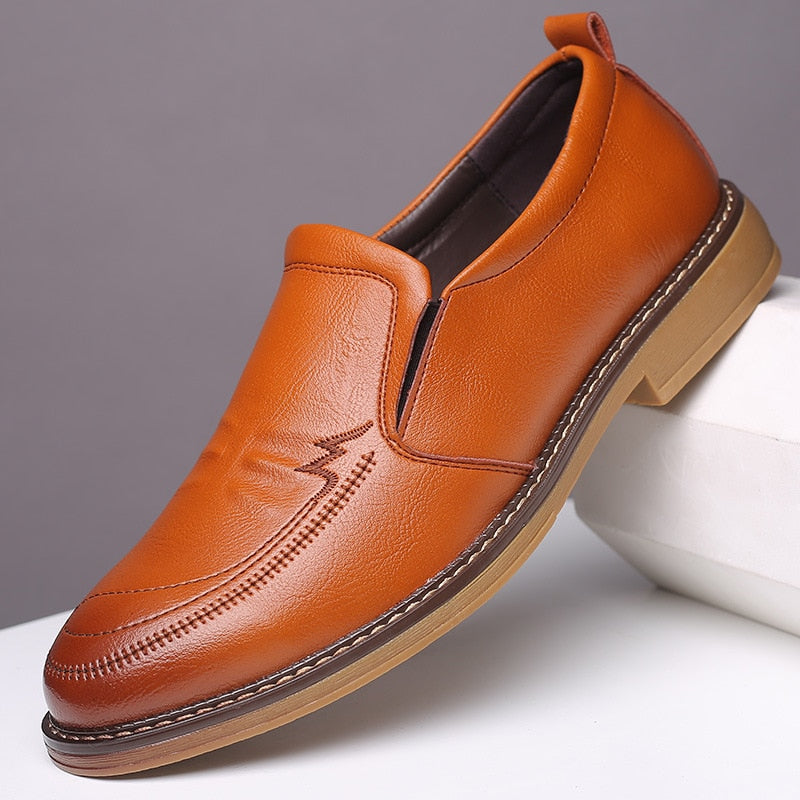 Marco Russo Genuine Leather Loafers