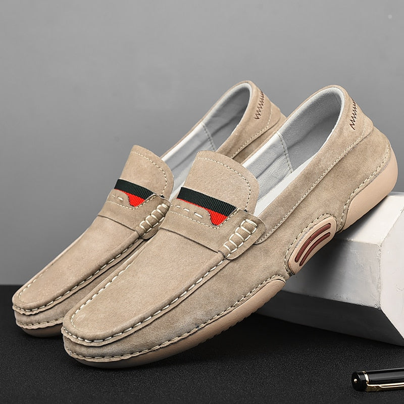 Lovunx Genuine Leather Loafers