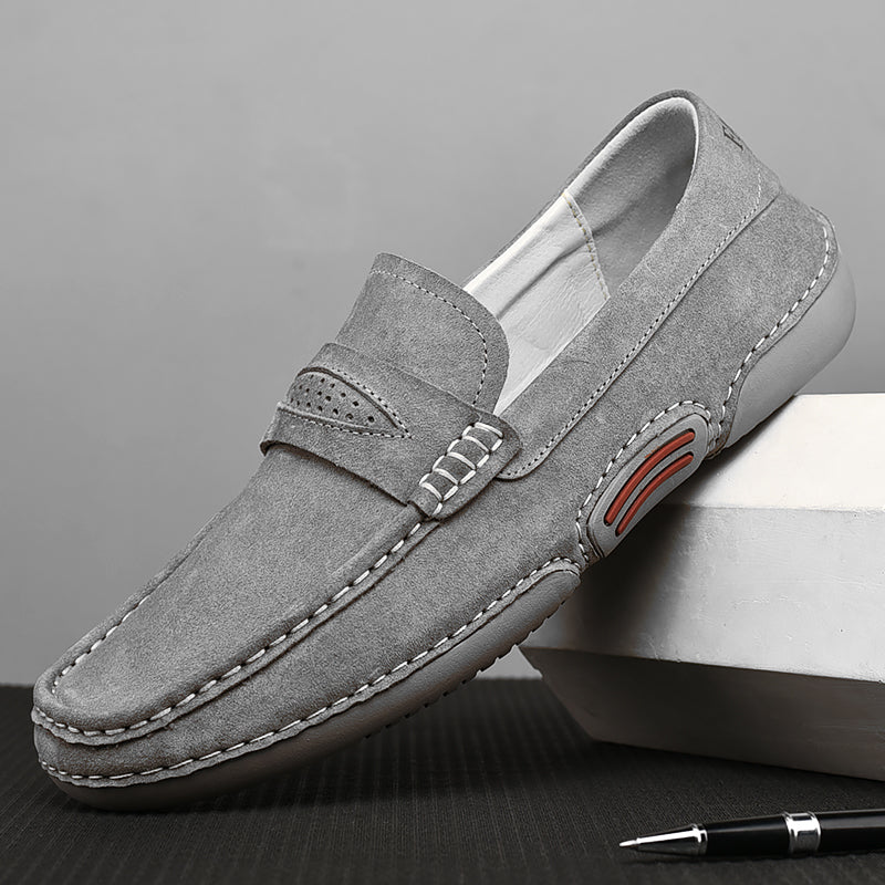 Paolo Rossi Genuine Leather Loafers