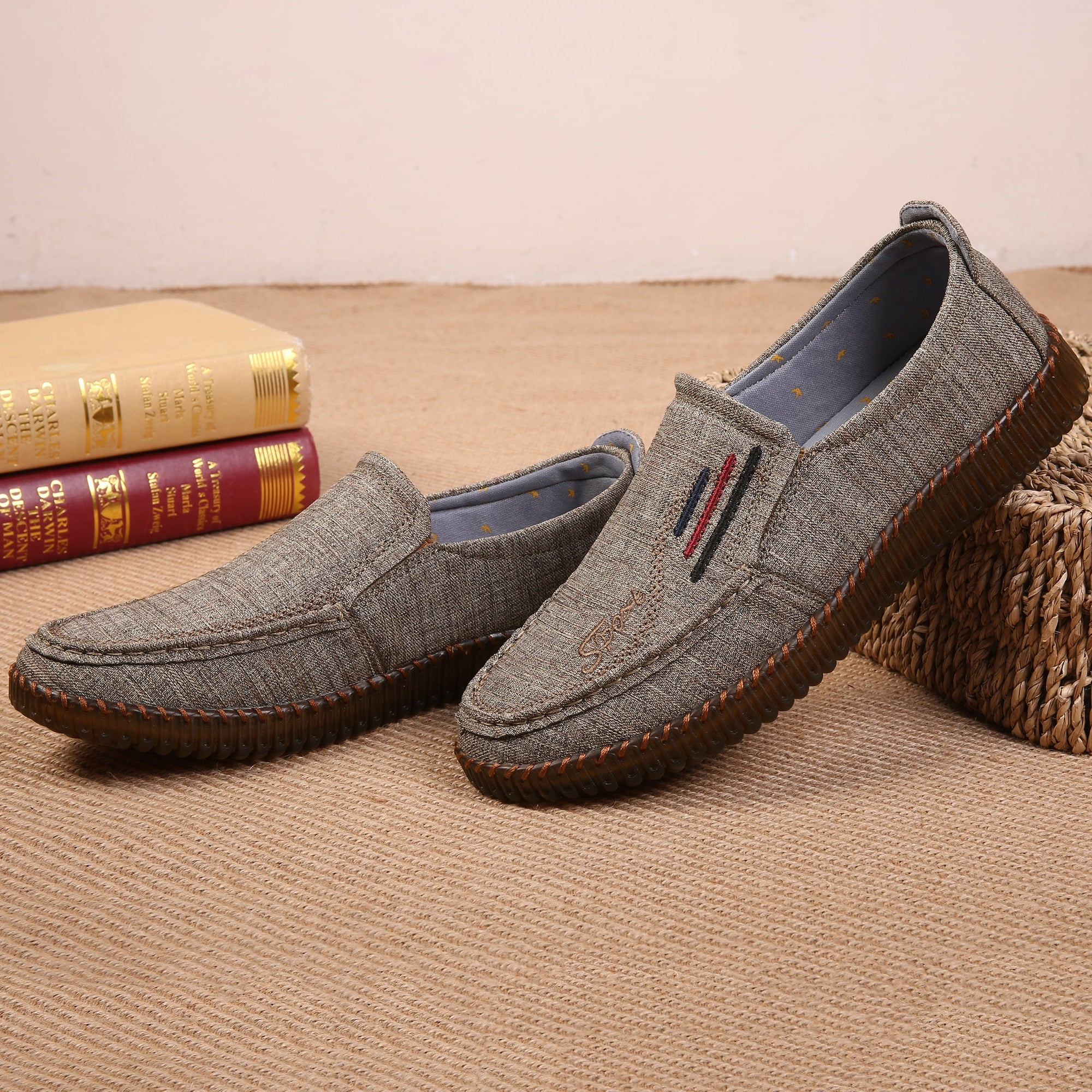 Admiral II Canvas Loafers
