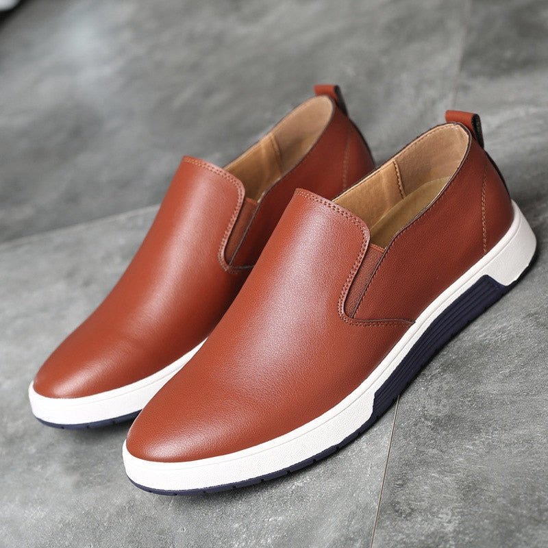 Alfredo Rossi Leather Loafers