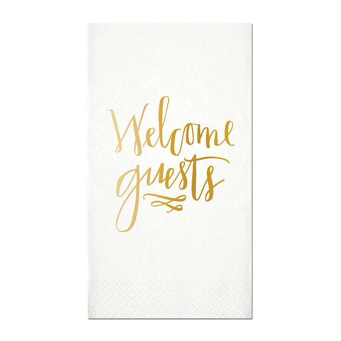 Welcome Guest Towel