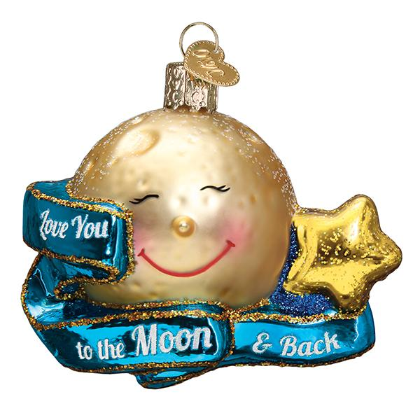 Love You to the Moon & Back Ornament