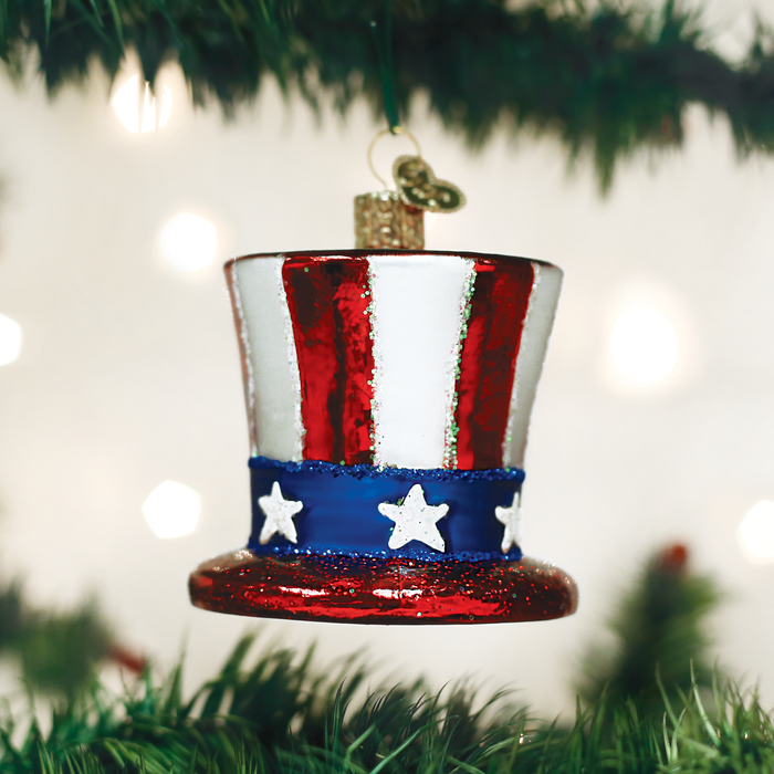 Uncle Sam's Hat Ornament