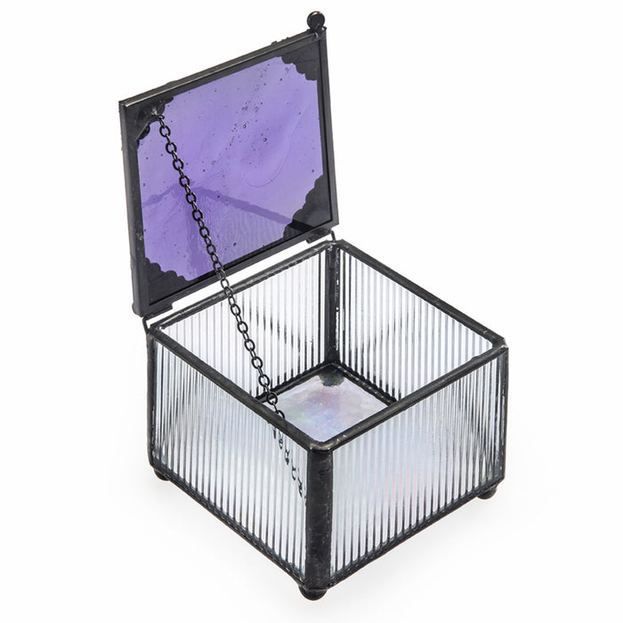 Purple Glass Box