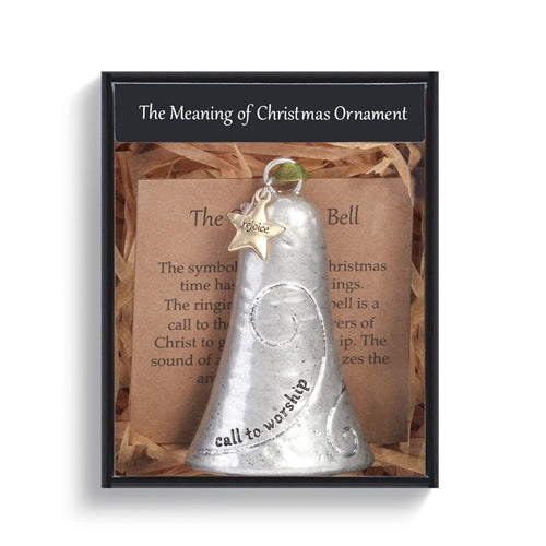 Meaning of Christmas Bell Ornament