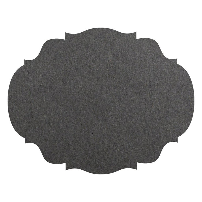 Gray French Frame Paper Placemats