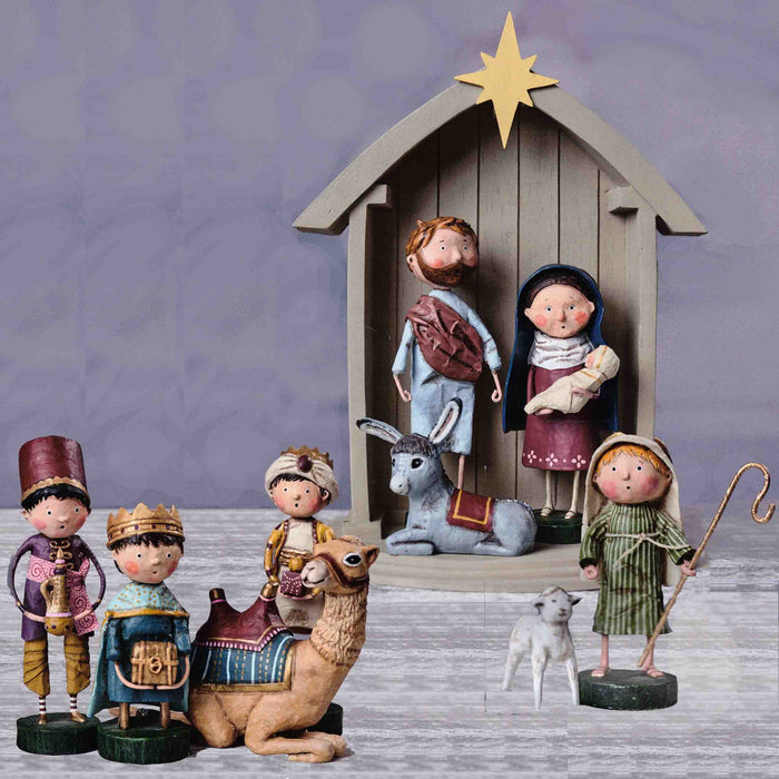 Folk Art Nativity