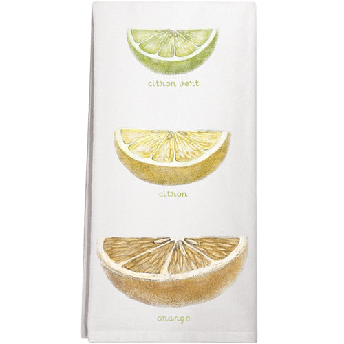 Citrus Slices Towel