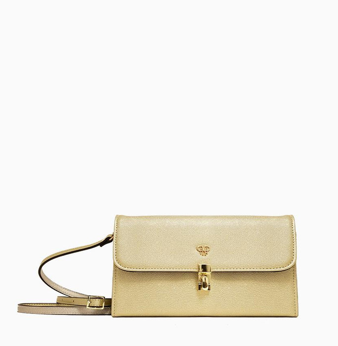Traveler Clutch-Gold