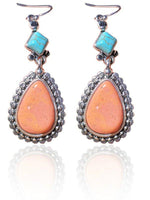Load image into Gallery viewer, Silver Vintage Alloy Earrings