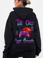 Load image into Gallery viewer, From Our First Kiss/ Till Our Last Breath Gamepad Couple Hoodie,Kangaroo Pocket