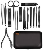 Load image into Gallery viewer, 15-Piece Manicure Set for Nail Clippers Stainless Steel Manicure Kit