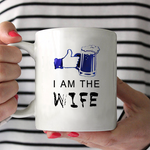Load image into Gallery viewer, If I Am Drunk Bring Me To My Wife Beer Couple Mug