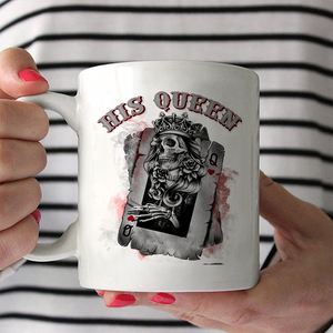 Her King/His Queen Couple Mug
