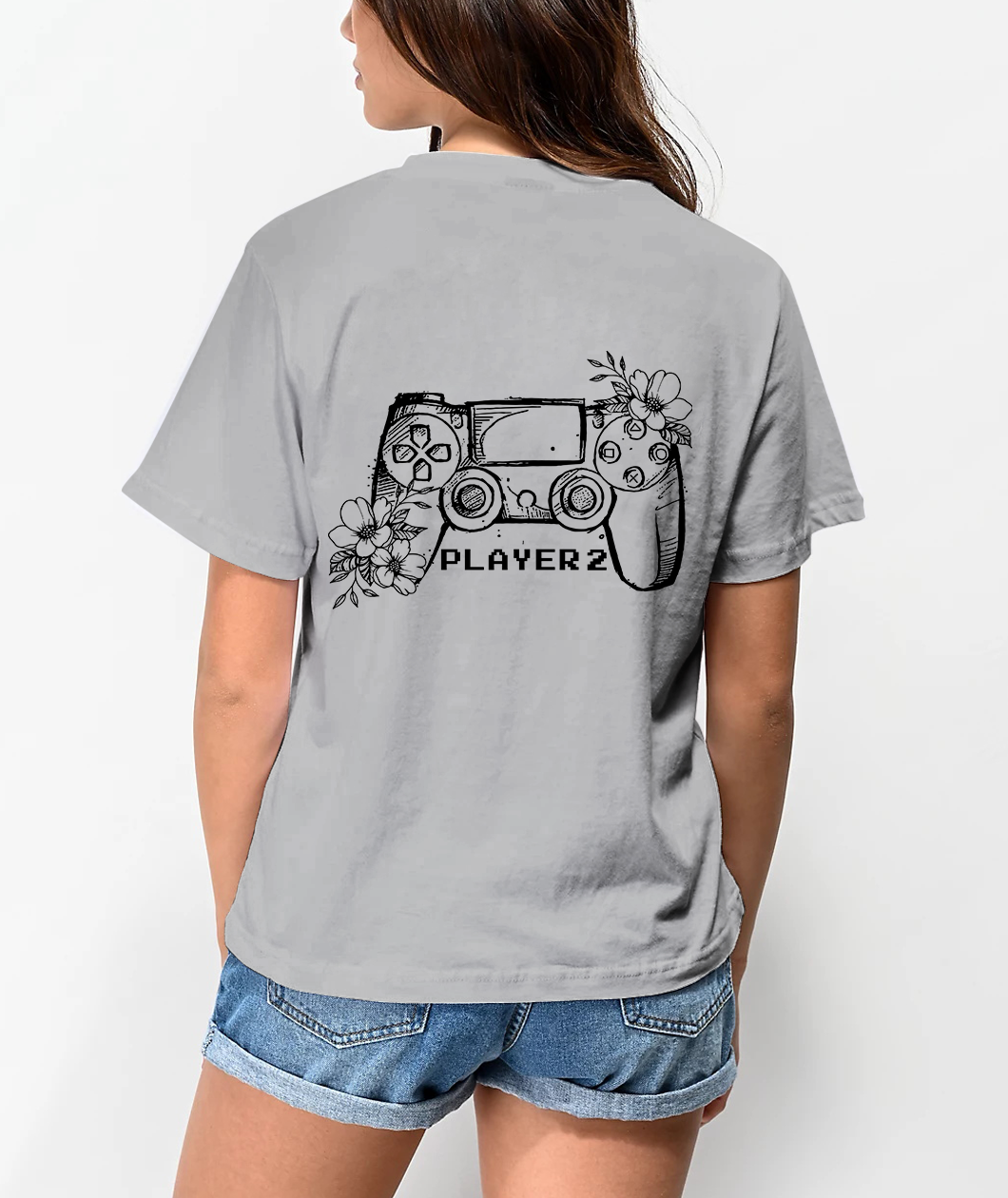 Player1 Player2 Couple T-Shirts