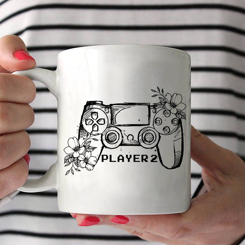 Player1/Player2 Couple Mug
