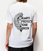 Load image into Gallery viewer, Always Protect My Queen/Always Trust My King Lion Couple T-Shirts