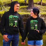 Load image into Gallery viewer, She's My Drunker Half He's My Drunker Half Beer Couple Hoodie,Kangaroo Pocket