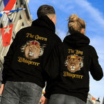 Load image into Gallery viewer, The Queen Whisperer The King Whisperer Lion Couple Hoodie,Kangaroo Pocket