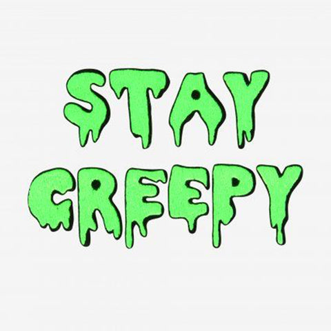 Stay Creepy free embroidery pattern by DMC