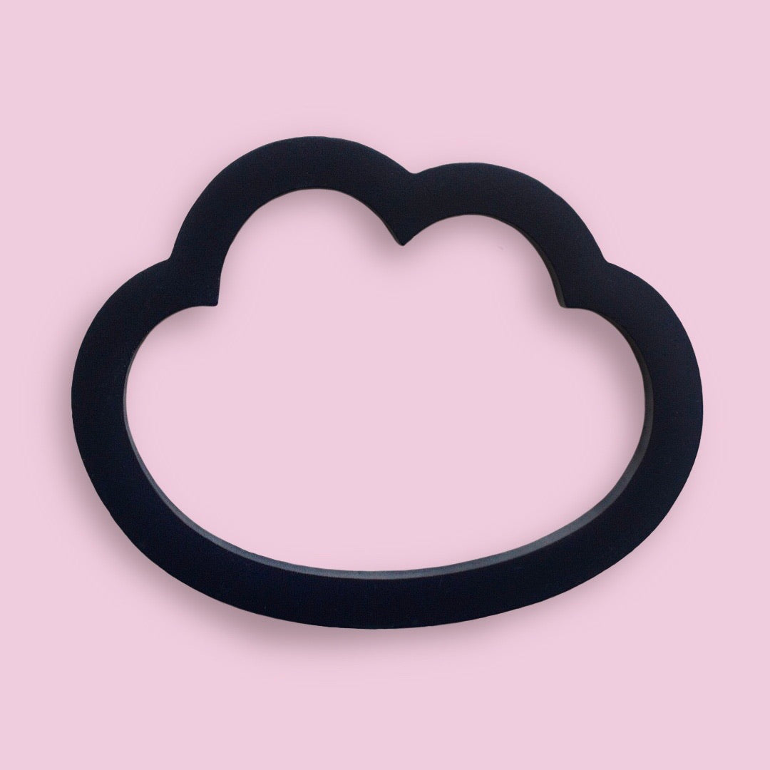 Cloud embroidery hoop