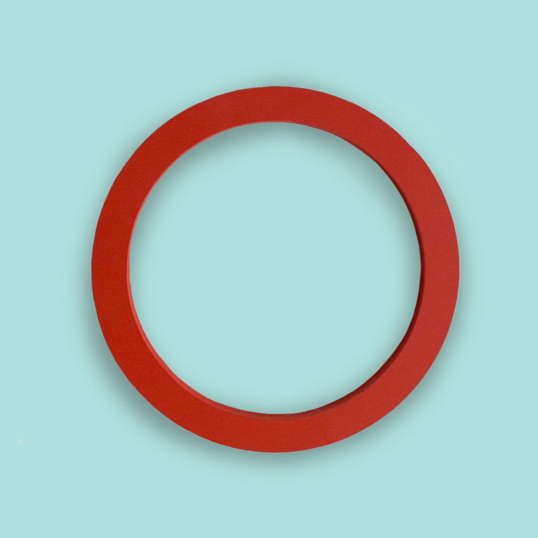 Circle embroidery hoop (slim)
