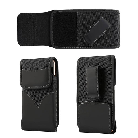 New Style Nylon Belt Holster with Swivel Metal Clip for XIAOMI MI NOTE 10 LITE  (2020)