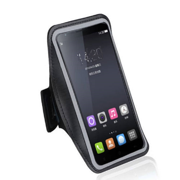 Armband Professional Cover Neoprene Waterproof Wraparound Sport with Buckle for Prestigio MultiPhone 5504 DUO