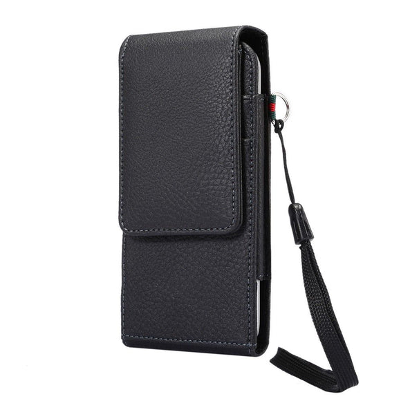 Leather Holster Case Belt Clip Rotary 360 with Card Holder and Magnetic Closure for VSMART JOY 1+ (2019)