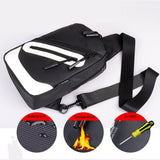 Backpack Waist Shoulder bag Nylon compatible with Ebook, Tablet and for Samsung Galaxy S20+ (2020) - Black