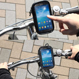 Professional Support for Bicycle Handlebar and Rotatable Waterproof Motorcycle 360º for Coolpad Legacy S (2019) - Black