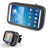 Professional Support for Bicycle Handlebar and Rotatable Waterproof Motorcycle 360º for ZTE Axon 10s Pro (2020) - Black