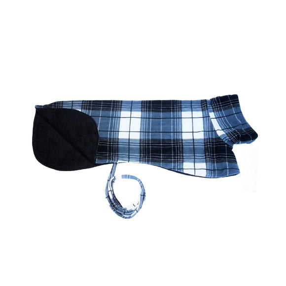 Black Plaid - Double Layer Fleece