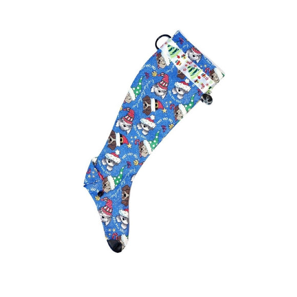Greyhound Christmas Stocking - Party Dogs