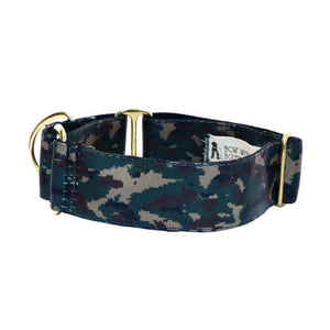 "Camo 1.5"" Collar and Lead set - Bow Wow"