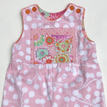 Load image into Gallery viewer, classic kid overalls in pink cali mod - little girl Pearl