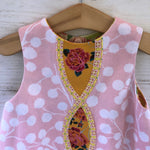 Load image into Gallery viewer, reversible intertwine dress in pink and yellow sizes 12M 18M 2T 3T 4T - little girl Pearl