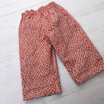 Load image into Gallery viewer, cotton reversible pants in seagull sailor and fishie - little girl Pearl