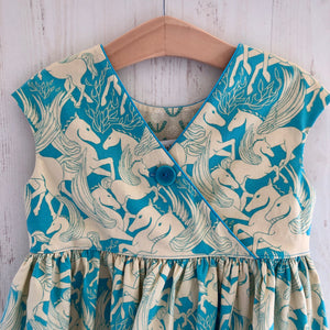 criss cross dress in Pegasus - little girl Pearl